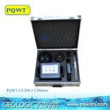 Detetor de escape da água do ganho de amplificador Pqwt-Cl200 audio para 2m profundamente com construído no sensor
