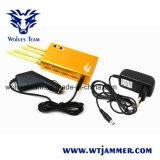Telefono portatile dorato potente delle cellule & Wi-Fi & emittente di disturbo di GPS
