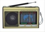 FM/AM/SW1-7 9 полосы портативный радиоприемник с USB/TF/АККУМУЛЯТОР/Bluetooth
