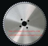 La hoja de sierra para cortar acero inoxidable