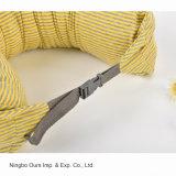 Espuma de estilo simple sin imprimir Cuidados en el cuello de partículas en forma de U Almohada