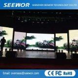 Ultra-Fine miete LED-Bildschirmanzeige des Pixel-P2.5mm Innenmit vorteilhaftem Preis