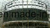 P6 Circular de la curva exterior impermeable DIP de LED para mostrar publicidad y el Centro Comercial