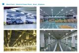 30W/60W branco Chip Philips Driver MW Triproof interior IP65 Luzes do tubo de LED