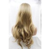 Фронта шнурка тела Dlme Ombre парик волос волнистого синтетический
