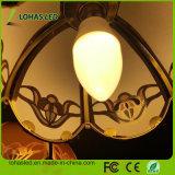 Los bulbos 6W de los candelabros LED del bulbo E12 la hora solar equivalente 5000K blanco de 60 vatios calientan 2700K blanco