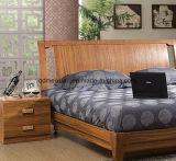 Festes hölzernes Bett-moderne doppelte Betten (M-X2296)