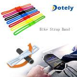 Support en caoutchouc élastique de recyclage de bandage de courroie de silicones de vélo