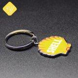I fornitori della Cina comerciano il marchio all'ingrosso di abitudine stampato metallo della catena chiave