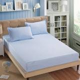 Massa van de Koning van het huis koopt de Textiel Dubbele het Beige Witte Blad van het Bed