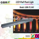 Puce 24PCS 3W 6 de CREE de Gbr IP65 DMX512 RVB RGBW dans 1 rondelle extérieure de mur de 4in1 5in1 RGBW DMX DEL