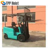 販売4のための中国の小型トラックは1.5トンの販売のための電気フォークリフト電池のフォークリフトの価格を動かす