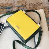 Hombro de la mujer de la PU de la alta calidad del bolso de señora Bags Giarl Candy Color de la manera del bolso de la marca de fábrica de China Sy8638