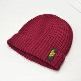 Personalizado de venta al por mayor nuevo estilo de moda invierno tejer ganchillo Deporte Beanie Hat