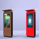Kiosque extérieur androïde de totem d'intense luminosité de SYSTÈME D'EXPLOITATION de 55 pouces