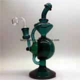 Pipe de la main Bw1-111, pipe en verre, pipe de fumage en verre douce de Puf