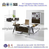 L形の管理の机中国は作ったオフィス用家具(M2604#)を