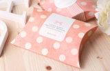 Коробка малых ювелирных изделий коробки подарка лидирующих упаковывая складывая бумажная