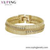 75039 Luxux14k Gold überzogenes Imatation Schmucksache-Frauen-Armband