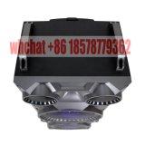 Temeisheng Dual 10 pulgadas con altavoces Bluetooth portátil inalámbrico de radio de la caja de música con la rueda de carro y F10-23