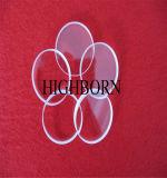 高い純度の円形の明確な水晶ディスク