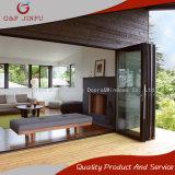 G&F Jinfu mejor calidad de lujo de aleación de aluminio puerta plegable