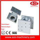Partie d'usinage CNC en aluminium de Barstock