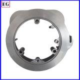 Pezzo meccanico su ordine di alluminio di CNC con la parte del pezzo fuso
