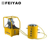 Envio de dupla ação puxe o cilindro hidráulico de alta tonelagem