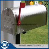 Caixa postal de aço galvanizada revestida do americano da caixa de letra da venda pó quente