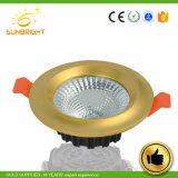 Алюминиевые 25 Вт светодиод вниз потолочного освещения