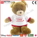 아이 또는 아이들 선물에 의하여 채워지는 연약한 견면 벨벳 장난감 곰 장난감