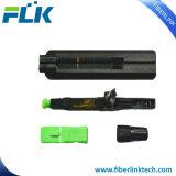 Connettore veloce ottico di goccia di FTTH Sc/Upc MP della fibra multimoda del cavo