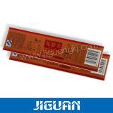 Het professionele Etiket van de Sticker van de Douane van het Gebruik pp van het Product van de Druk Verpakkende