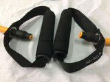 4' noir de latex de caoutchouc Moyenne Tension de l'exercice de la bande de résistance 12lbs