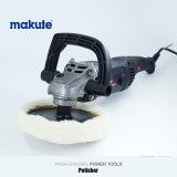 Обслуживание электрического автомобиля AC полировщика 180mm автомобиля Makute