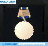 Médaille faite sur commande de souvenir de médaille de récompense de médaillon en métal d'honneur
