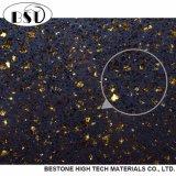 Zwarte Goedkoop Countertop van de Steen van het Kwarts van de Melkweg Kunstmatige