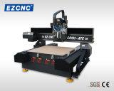 La transmisión de doble husillo de bola Ezletter precisión CNC Máquina de grabado y tallado con Eye-Cut (GR-101ATC)