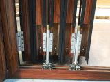 中国の卸し売り市場アルミニウムフレームの曇らされたガラスの折れ戸