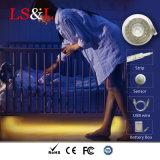 De Kabel Striplight van het LEIDENE Koord van de Sensor met de Verlichting van de Nacht van het Effect van de Schakelaar USB voor Slaapkamer