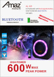 Bewegliche bunte MiniBluetooth Hinterverkleidung Speakeral105 Temeisheng Kvg Bluetooth China-Amaz