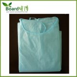Wasserdichtes PP+PE nichtgewebtes gelbes Lokalisierungs-Kleid, PET beschichtete Kleid
