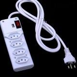 Zoccolo di potere di estensione del caricatore del USB