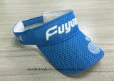 Sombrero del visera de Airmesh Sun, bordado de encargo del acoplamiento y visera impreso