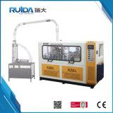 Taza de papel de alta velocidad de Rd-12/22-100A que forma la máquina
