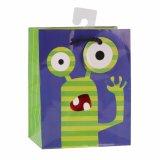 Bolsas de papel azules del regalo del arte del almacén de juguete de los niños de los subordinados