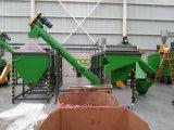 flocos plásticos do frasco do animal de estimação que esmagam o lavagem secando a planta de recicl