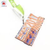Het Medaillon van de Winnaar van Triathlon van het Metaal van het Afgietsel van de matrijs