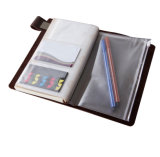 Het met de hand gemaakte Uitstekende Leer Verbindende Notitieboekje van de Agenda van het Dagboek van de Reis